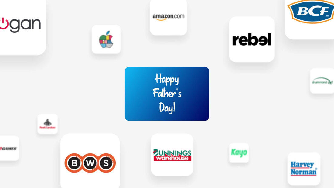 Digital Gift Cards on Father's Day