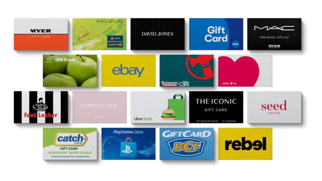 Send Employee Gift Cards Online Australia