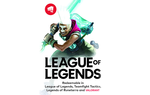 Buy League of Legends Gift Card & Voucher Online with GIFTA