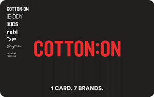 Buy Cotton On Gift Card & Voucher Online with GIFTA