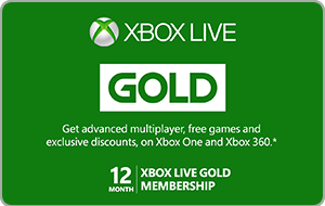 Buy AUS Xbox Live Gold | 12 Month Membership Gift Card & Voucher Online with GIFTA