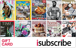 Buy AUS isubscribe Gift Card & Voucher Online with GIFTA