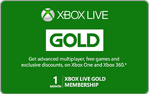 Buy AUS Xbox Live Gold | 1 Month Membership Gift Card & Voucher Online with GIFTA