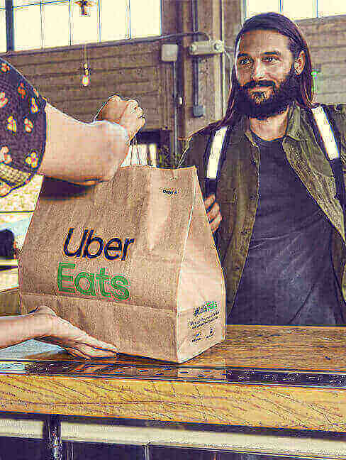 Uber Eats Gift Card for Food Lovers with GIFTA