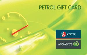 Caltex Woolworths Petrol eGift Card