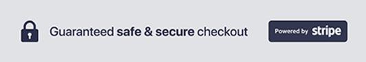 Guaranteed Safe & Secure Checkout Process