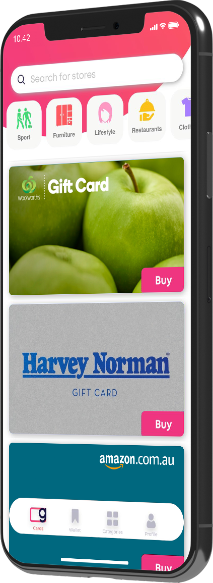 GIFTA Gift Cards Store - Access Hundreds of Top Gift Cards Brands